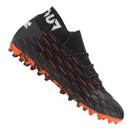 Buty piłkarskie Puma Future 6.1 Netfit Mg M 106181-01 wielokolorowe czarne