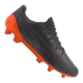 Buty piłkarskie Puma King Platinum Fg / Ag M 105606-04 czarne czarne