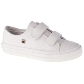 Buty Big Star Youth Shoes Jr GG374010 białe czarne