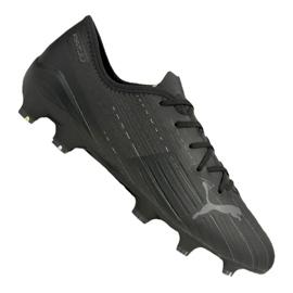 Buty piłkarskie Puma Ultra 2.1 Fg / Ag M 106080-02 czarne wielokolorowe