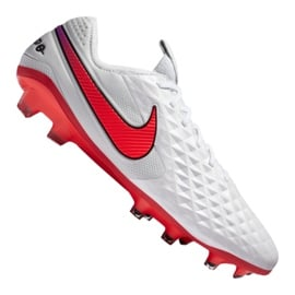 Buty piłkarskie Nike Legend 8 Elite Fg M AT5293-163 wielokolorowe białe