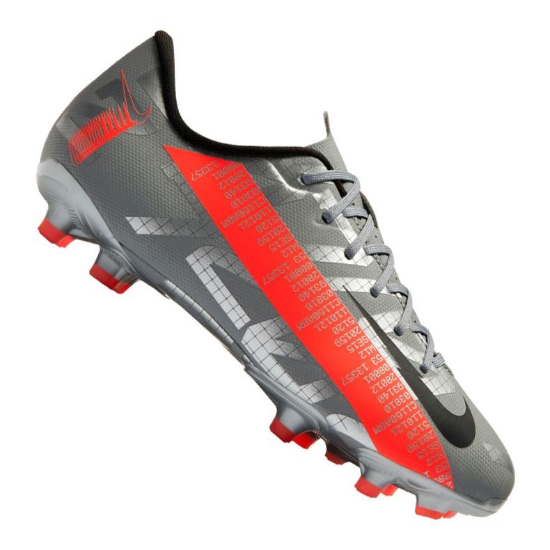 Buty piłkarskie Nike Vapor 13 Academy Mg Jr AT8123-906 czerwone