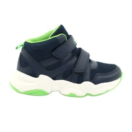 Befado obuwie dziecięce  516X049 granatowe zielone