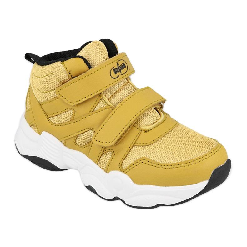 Befado obuwie dziecięce  516Y051 żółte