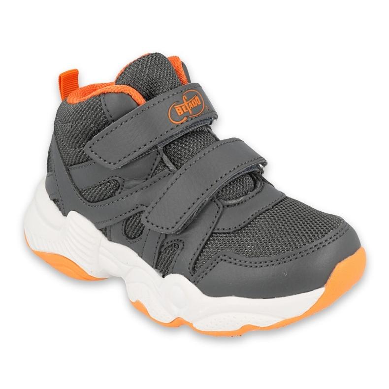 Befado obuwie dziecięce  516Y050 pomarańczowe szare