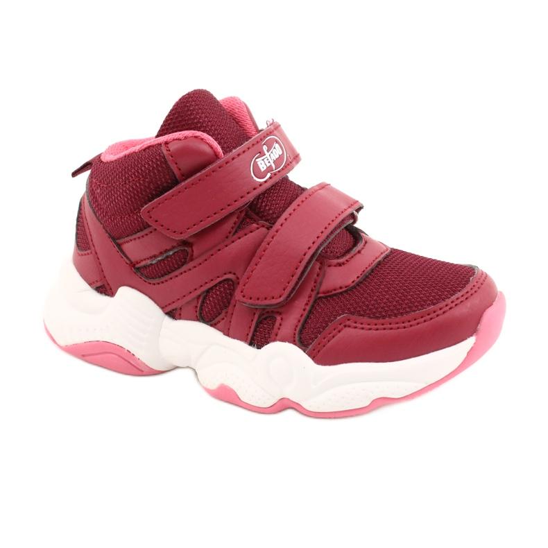 Befado obuwie dziecięce 516Y053 bordowy czerwone