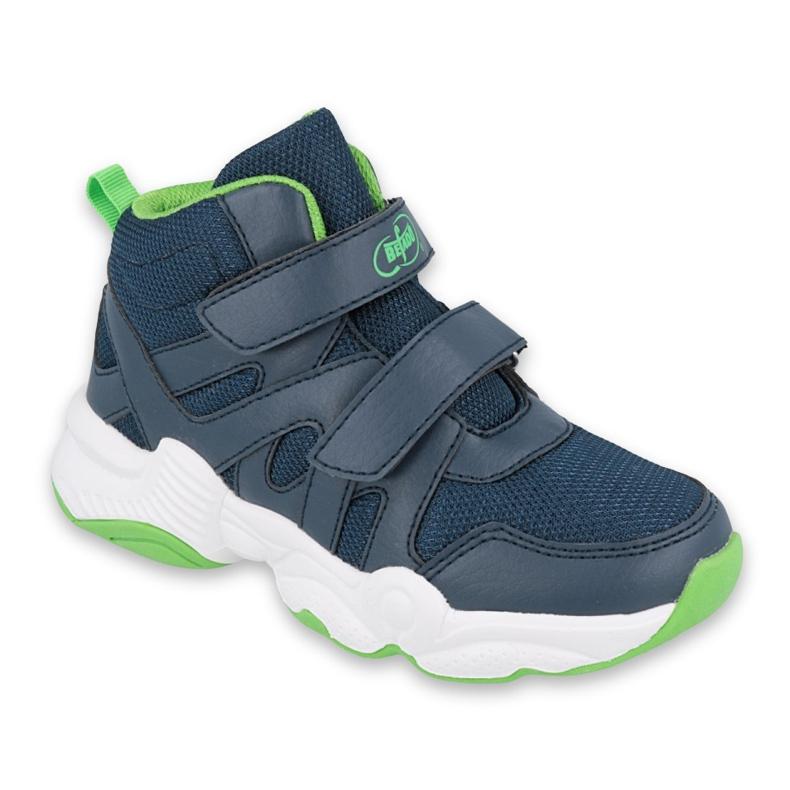 Befado obuwie dziecięce  516Y049 granatowe zielone