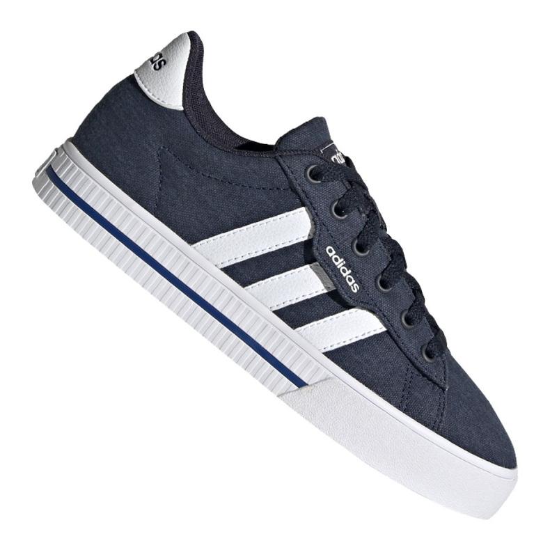 Buty adidas Daily 3.0 Jr FX7268 czarne granatowe