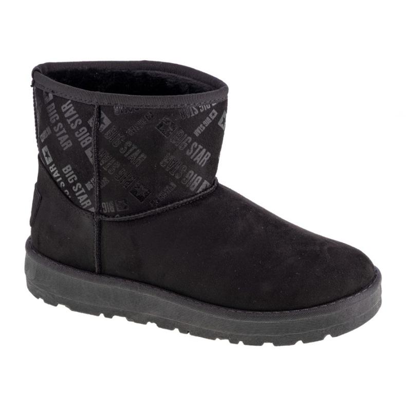 Buty Big Star Booties W GG274556 białe czarne