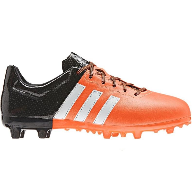 Buty piłkarskie adidas Ace 15.3 Fg Ag Jr B32809 pomarańczowe