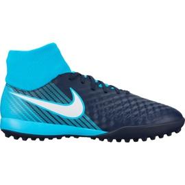 Buty piłkarskie Nike Magista X Onda Ii Df Tf 917796 414 niebieskie
