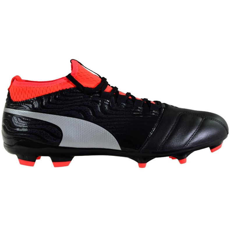 Buty piłkarskie Puma One 18.3 Fg 104538 01 czarne wielokolorowe
