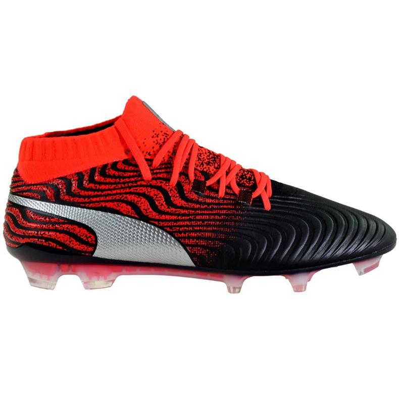 Buty piłkarskie Puma One 18.1 Syn Fg 104869 01 czarne wielokolorowe