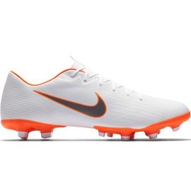 Buty piłkarskie Nike Mercurial Vapor 12 Academy Mg AH7375 107 białe wielokolorowe