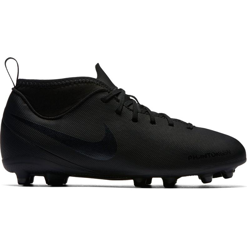 Buty piłkarskie Nike Phantom Vsn Club Df Fg Jr AO3288 001 czarne wielokolorowe