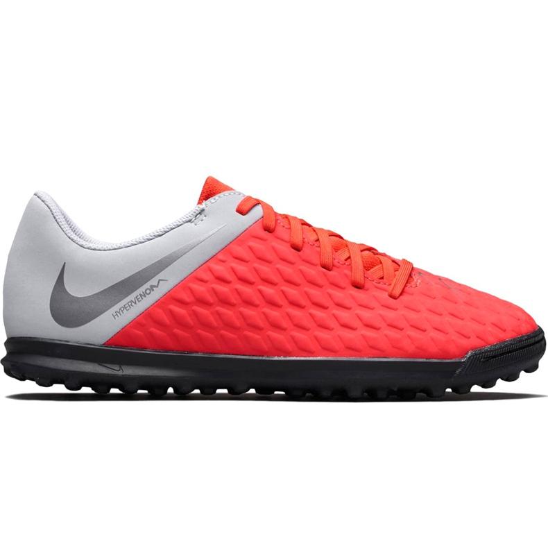Buty piłkarskie Nike Hypervenom Phantom X 3 Club Tf Jr AJ3790 600 wielokolorowe czerwone