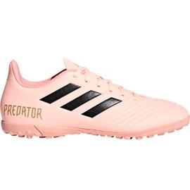 Buty piłkarskie adidas Predator Tango 18.4 Tf DB2142 różowe wielokolorowe