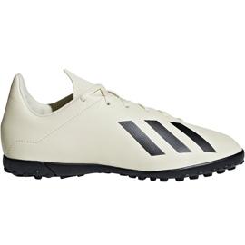 Buty piłkarskie adidas X Tango 18.4 Tf Jr DB2436 beżowy wielokolorowe