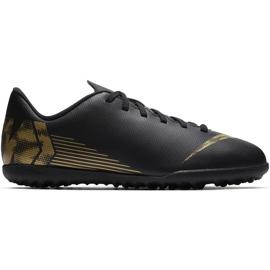 Buty piłkarskie Nike Mercurial Vapor X 12 Club Tf Jr AH7355 077 czarne wielokolorowe