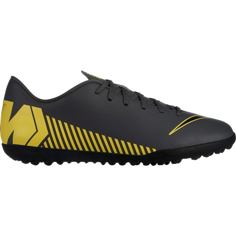 Buty piłkarskie Nike Mercurial Vapor X 12 Club Tf AH7386 070 wielokolorowe szare