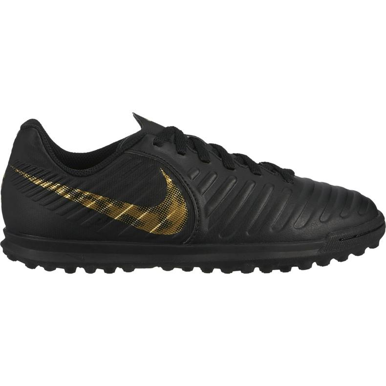 Buty piłkarskie Nike Tiempo Legend 7 Club Tf Jr AH7261 077 czarne wielokolorowe