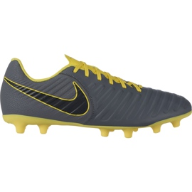 Buty piłkarskie Nike Tiempo Legend 7 Club Mg AO2597 070 szare czarne