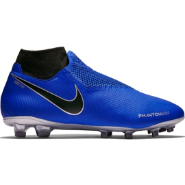Buty piłkarskie Nike Phantom Vsn Pro Df Fg AO3266 400 niebieskie