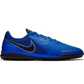 Buty piłkarskie Nike Phantom Vsn Academy Tf AO3223 400 niebieskie niebieskie