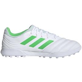 Buty piłkarskie adidas Copa 19.3 Tf D98064 białe białe