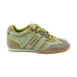 Buty sportowe dziewczęce Sugus 3385 żółte zielone
