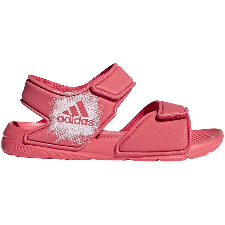 Sandały adidas Alta Swim C BA7849 różowe