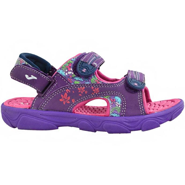 Sandały dla dziewczynki Joma Ocean 719 fioletowe