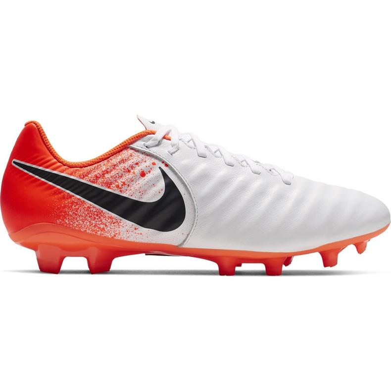 Buty piłkarskie Nike Tiempo Legend 7 Academy Fg AH7242 118 białe wielokolorowe
