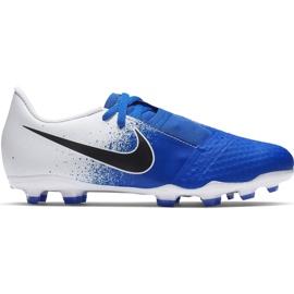 Buty piłkarskie Nike Phanton Venom Academy Fg Jr AO0362 104 niebieskie wielokolorowe