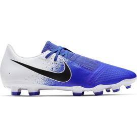 Buty piłkarskie Nike Phantom Venom Academy Fg AO0566 104 wielokolorowe niebieskie