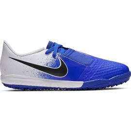 Buty piłkarskie Nike Phantom Venom Academy Tf Jr AO0377 104 wielokolorowe niebieskie