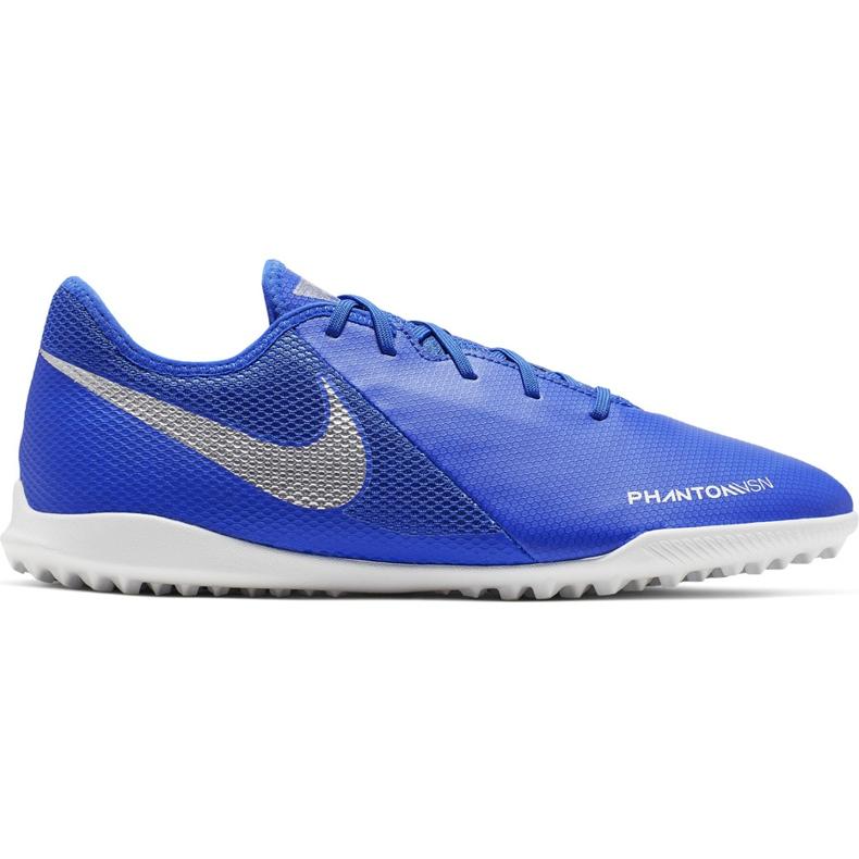 Buty piłkarskie Nike Phantom Vsn Academy Tf AO3223 410 niebieskie wielokolorowe