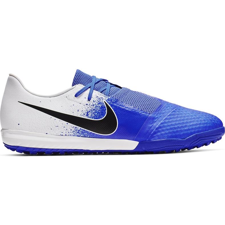 Buty piłkarskie Nike Phantom Venom Academy Tf AO0571 104 niebieskie wielokolorowe
