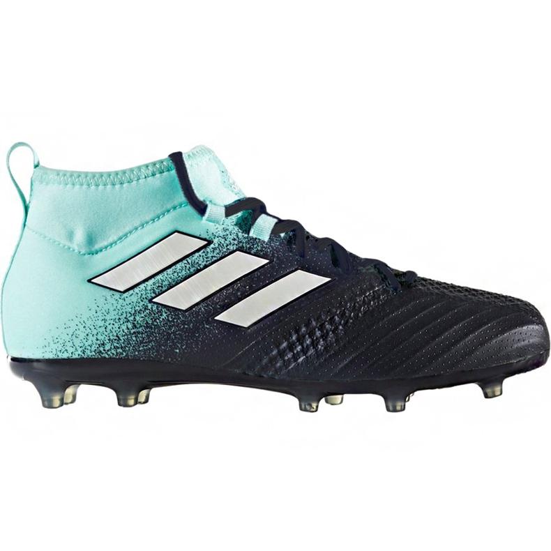 Buty piłkarskie adidas Ace 17.1 Fg Jr S77040 niebieskie niebieskie