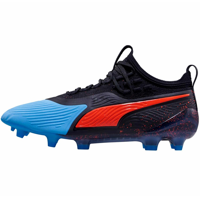 Buty piłkarskie Puma One 19.1 Syn Fg Ag 105481 01 czarne czarne