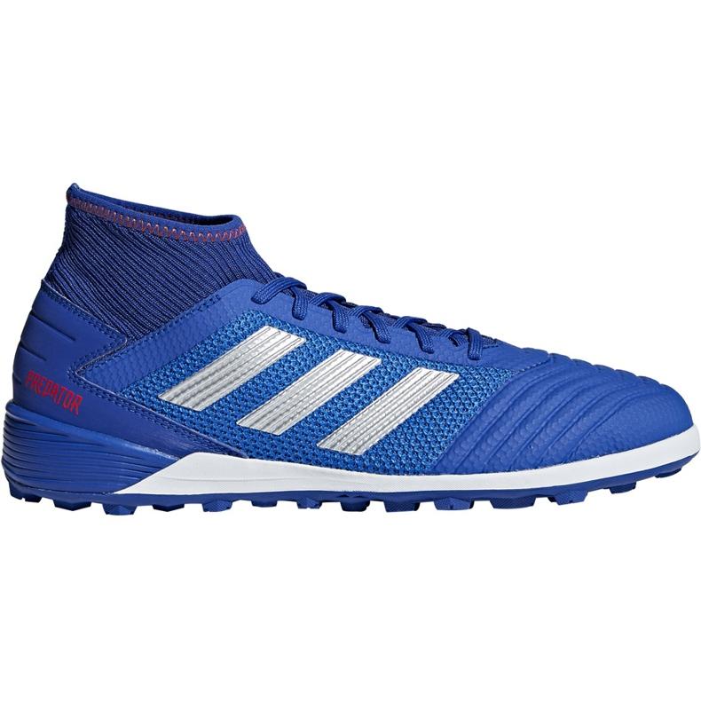Buty piłkarskie adidas Predator 19.3 Tf niebieskie BB9084 wielokolorowe