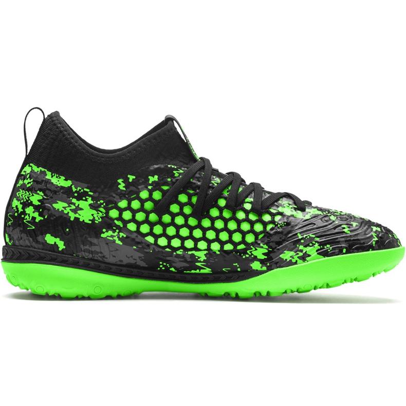 Buty piłkarskie Puma Future 19.3 Netfit Tt 105542 03 zielone wielokolorowe