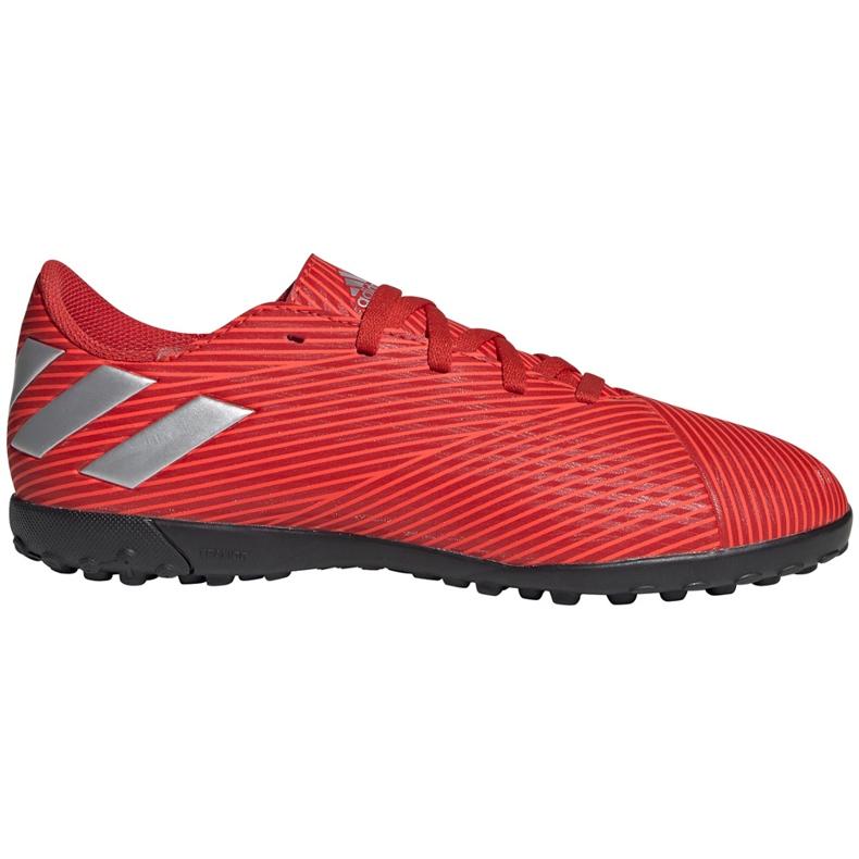 Buty piłkarskie adidas Nemeziz 19.4 Tf Jr czerwone F99935