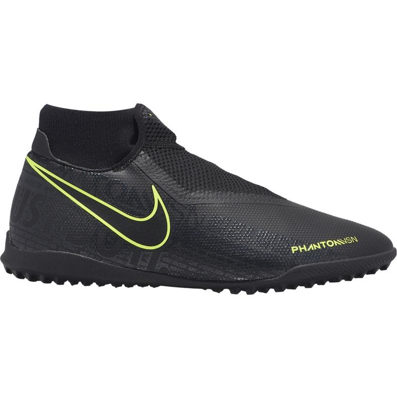 Buty piłkarskie Nike Phantom Vsn Academy Df Tf AO3269 007 czarne czarne