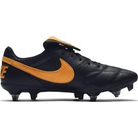 Buty piłkarskie Nike Premier Ii SG-PRO Ac 921397 080 czarne czarne