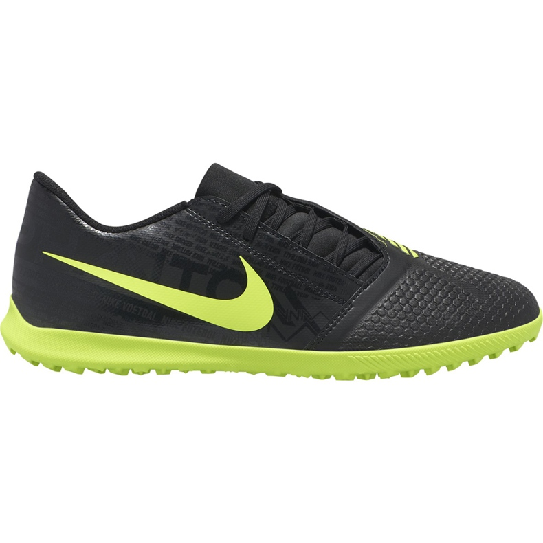 Buty piłkarskie Nike Phantom Venom Club Tf AO0579 007 czarne czarne