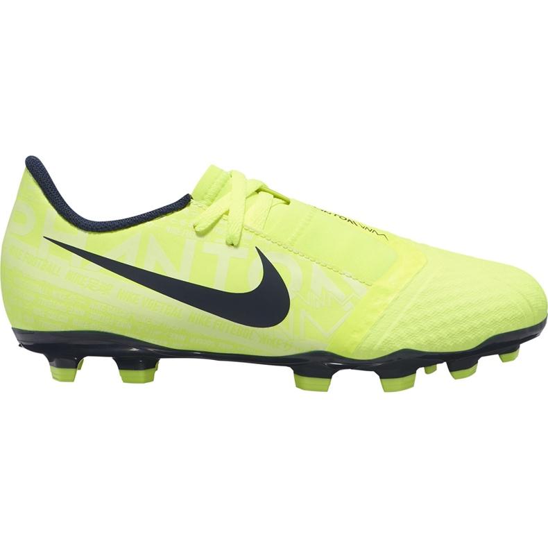 Buty piłkarskie Nike Phantom Venom Academy Fg Junior AO0362 717 żółte żółte
