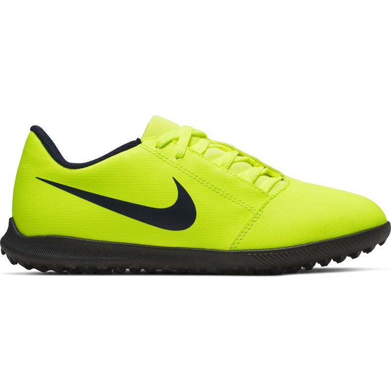 Buty piłkarskie Nike Phantom Venom Club Tf Junior AO0400 717 żółte żółte