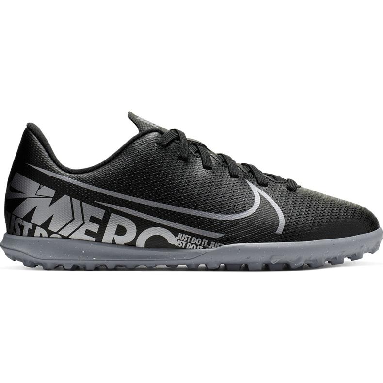 Buty piłkarskie Nike Mercurial Vapor 13 Club Tf Junior AT8177 001 czarne czarne