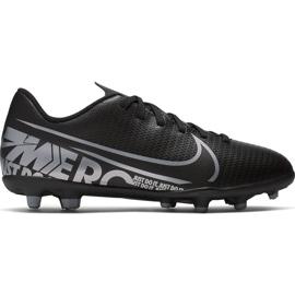 Buty piłkarskie Nike Mercurial Vapor 13 Club FG/MG Junior AT8161 001 czarne czarne